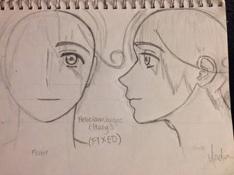 FIXED Feliciano Vargas (Italy) Sketch-Out by Myindiansummer