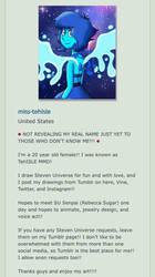My New DeviantArt page!!! by Myindiansummer