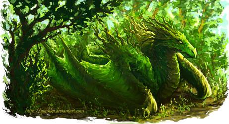 Dragon by Yioshka