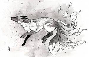 Kitsune-ink by Yioshka