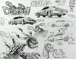 Donnie.... Speed Demon S3 E6 by LeonardoFangirl1