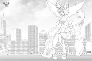 In the big city by AzumiHaruki