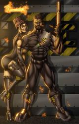 The Gatekeepers by RoxedoArt