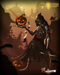 Halloween by RoxedoArt