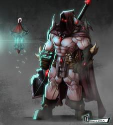 Mysterious Hunter by RoxedoArt