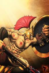 Spartan by RoxedoArt