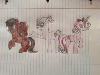Sonic Fazbear 15's pony ocs by April-13
