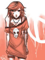 Sketchbook: Gaige by luna--kai