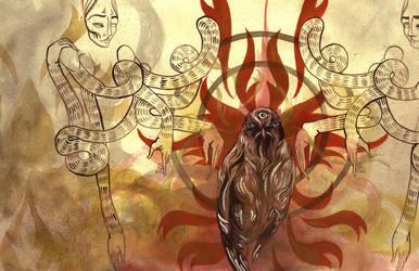 Chela Rhea- A Distant Mirror by manfishinc