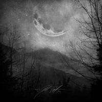 Lunar Mountain by manfishinc