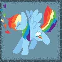 Rainbow Dash by xxspadess