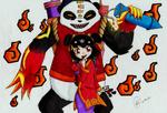 Bloody Pandas by Ai-Ball