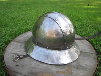 Kettle helmet 2 by Kretualdo