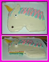Unicorn cake by estranged-illusions