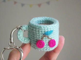 Tiny amigurumi cup by AnneKo