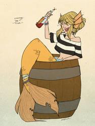 [MerMay] Pirate by Nadalien