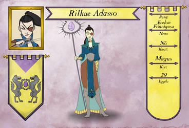 [NPC] Rilkae Adasso - Highmage of Evelon by Nadalien