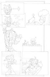 Dead is Dead - Page 4 (pencils) by FritzyArtCorner