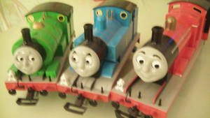 thomas and percy and james by DominatorGTX8000
