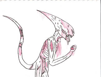 zombie neomorph by comicsfordays