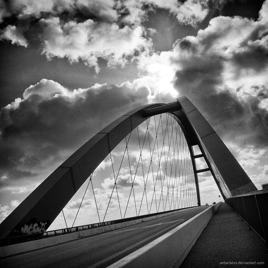 Fehmarn Sound Bridge by antarialus