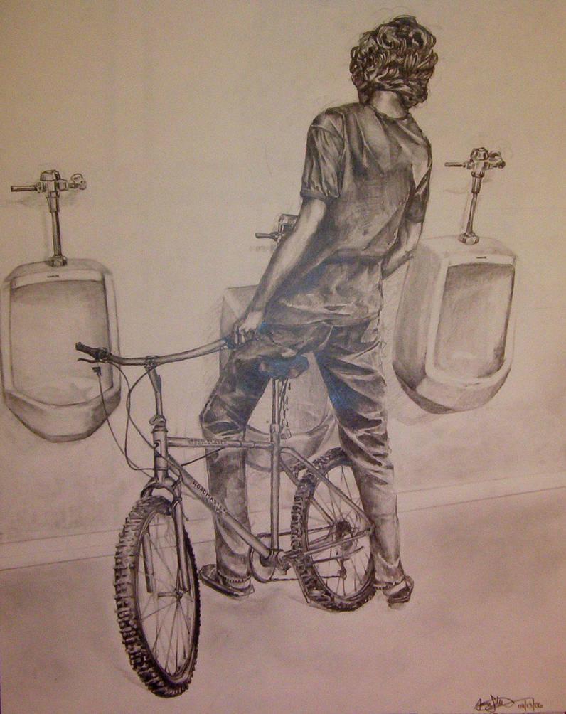 Risd Bike Drawing By Yellowmoon On Deviantart