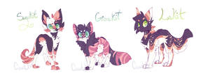 The 3 Kits by CoatlCuddles