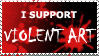 violent art stamp by thechaosproject