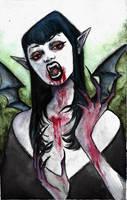 Vampire by craziercircles