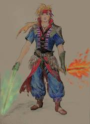 FinalFantasy Character-Fusion Redesign by MalvaLunaLynx