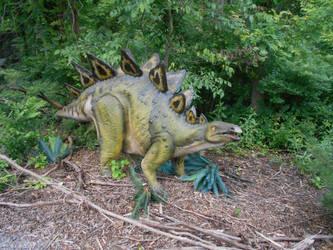 Stegosaurus by cheatingatlife