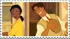 Tiana x Naveen stamp by Metadream