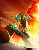 Crash and Burn by imbisibol