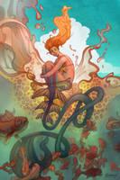 The Little Mermaid by SeaOfFireflies