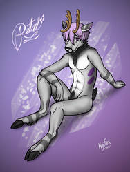 Petal Deer by Bonvallet
