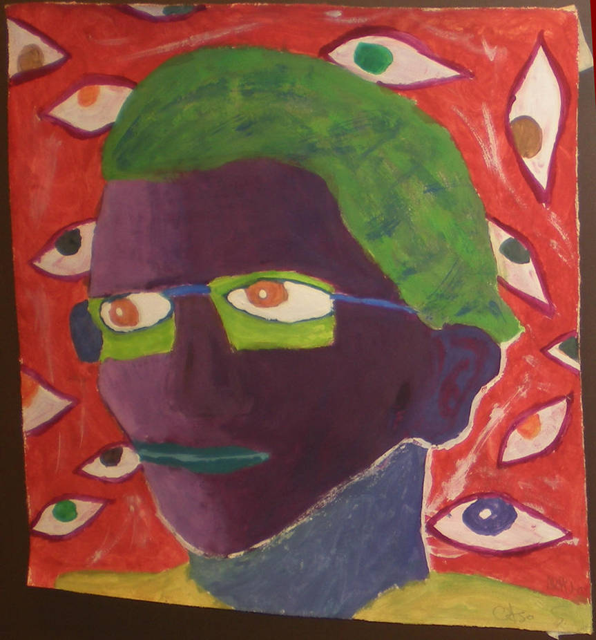 Self portrait by Kardhu