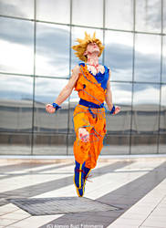 Goku cosplay .: Departing for new adventures!:. by Alexcloudsquall
