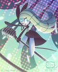 Meloetta by Cardbordtoaster