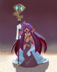 Princess Hilda by Cardbordtoaster