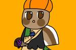 Puyo Puyo OC - Turkeycrow by IloveTamagotchi2702