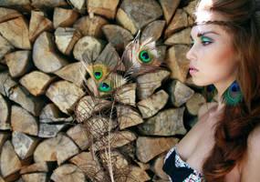 Ojos de Pavon by EMmakeup