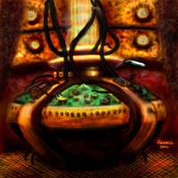 TARDIS Interior by Bungle0