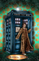 Doctor Who COLOUR by Bungle0