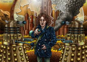 TIME WAR colour by Bungle0