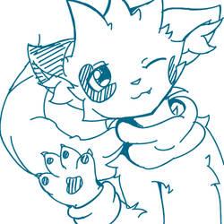 Sparks710 sketch by Alyx-SKat