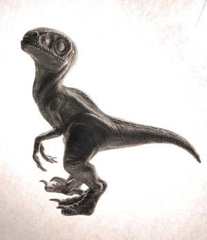 Aluminium Baby Raptor by Heliot8