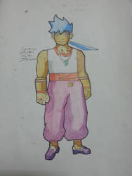 breath of fire iv character Ryu by kidnaser