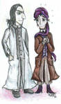 Snape and Quirrel by Twisted-chan