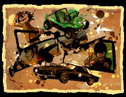 Scene in cars. by rumrock