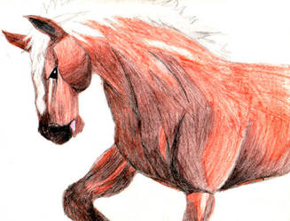 Old Epona Sketch by Triserao